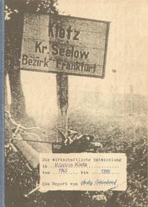 Die wirtschaftliche Entwicklung in Küstrin-Kietz von 1945 bis 1995 - Ein Report von Andy Steinhauf