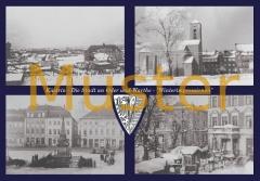 Maxi-Ansichtskarte Küstrin - Winterimpressionen
